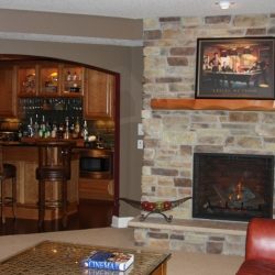 Titus Contracting | Basement renovation North Oaks