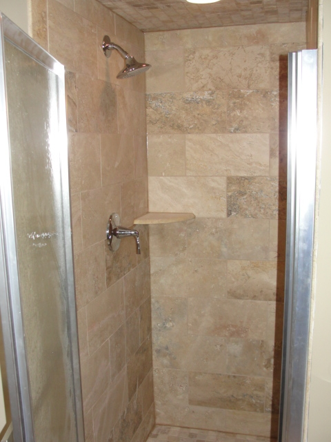 Twin cities bathroom remodeling gallery titus contracting for Residential bathroom remodeling