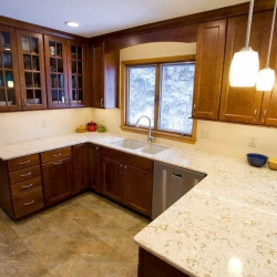Titus Contracing   Kitchen View Above Sink