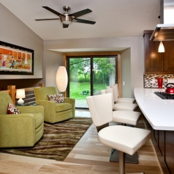 Titus Contracing   Kitchen Lounge Area