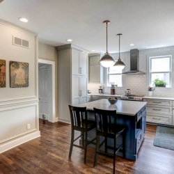Kitchen Remodel Added Eat-in Island