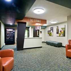 Titus Contracting | Theater Room Lobby Minneapolis