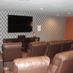 Titus Contracting | Theater Room Floorplan Hastings