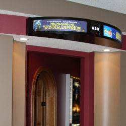 Titus Contracting | Theater room entrance Hastings