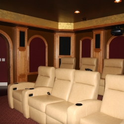 Titus Contracting | Theater Room Seating Minneapolis