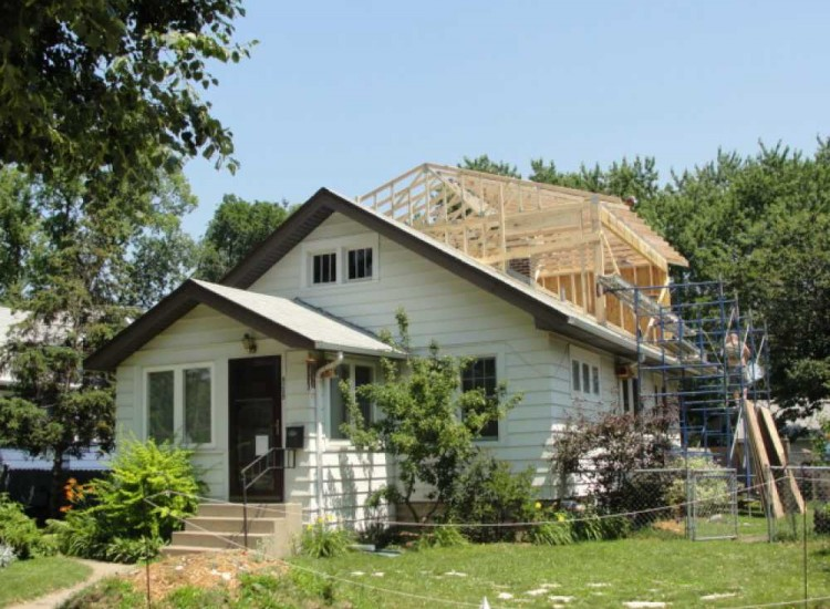 Before after second floor addition twin cities mn for Second floor addition before and after