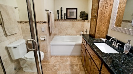 Before & After Bathroom Remodeling Final Product