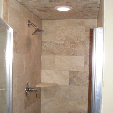 Titus Contracting   Bathroom shower remodeling Minneapolis