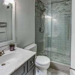Home Remodelers | Towers Bathroom After Remodeling | TItus Contracting