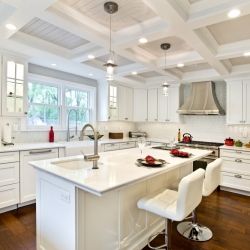 Titus Contracing | White Kitchen Remodel