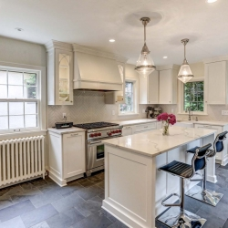 A Kitchen Remodel that Maintains Original Features