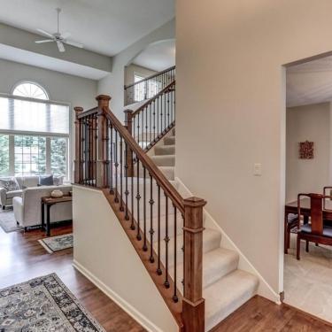 modernized-stair-railings-for-multi-level-home-renovation