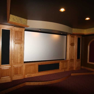 Titus Contracting | Theater room Viewing North Oaks