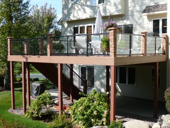 Titus Contracting After Deck Addition Twin Cities
