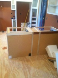 Replacing the Kitchen Cabinets