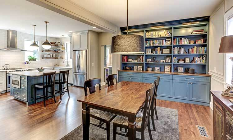 Historic 1900's Home Gets Energy Efficient Kitchen Makeover by Titus Contracting INC