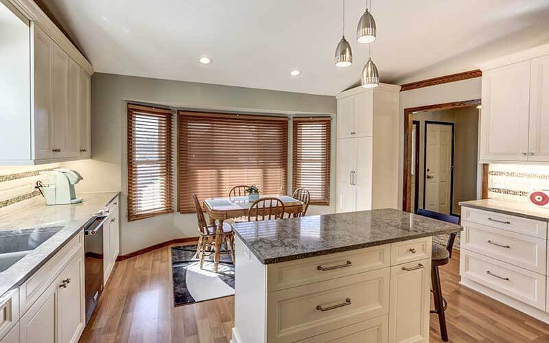 Bright Open Concept Kitchen Remodel In Minneapolis Adorable Home Remodeling Mn Decor Design