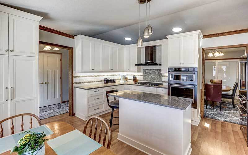 Bright-open concept-kitchens remodeled by Titus Contracting
