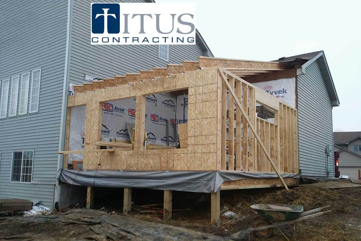 Minneapolis Home remodeling  by Titus Contracting INC
