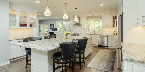 Kitchen Remodeled Beautifully by Titus Contracting Inc