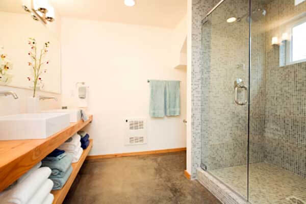 Savage bathroom renovation by Titus Contracting INC