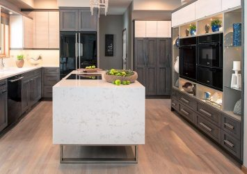 Cambria kitchen countertop material used by Titus Contracting