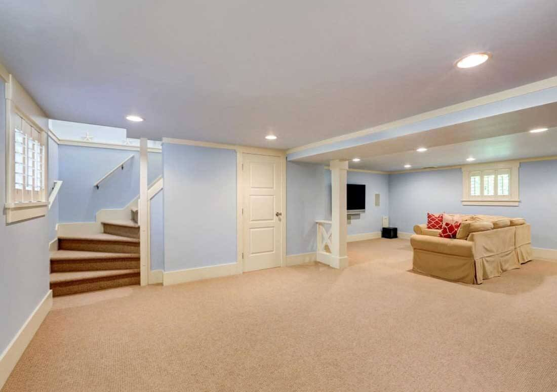 Enhance your home's value by renovating the basement
