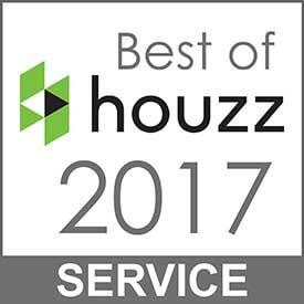 Best of Houzz 2017 Client Satisfaction Service Award Winner