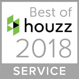 Best of Houzz 2018 Client Satisfaction Service Award Winner